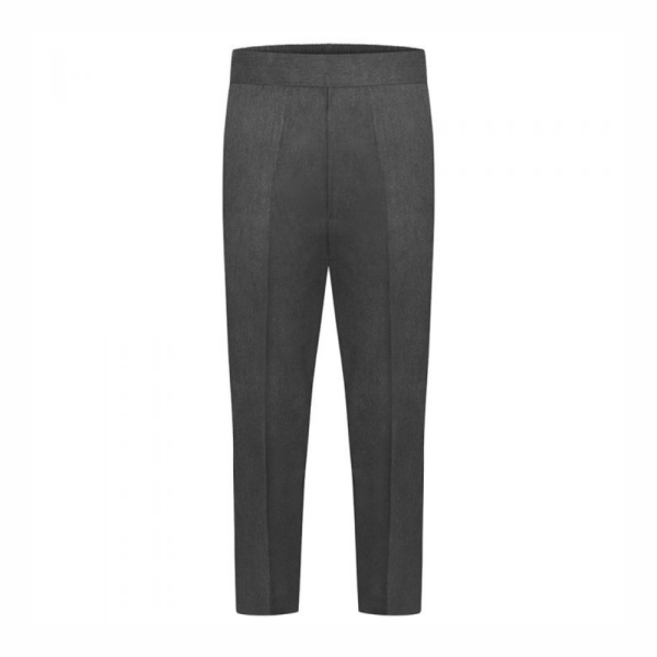 Boys Half Elastic Pull Up Trousers