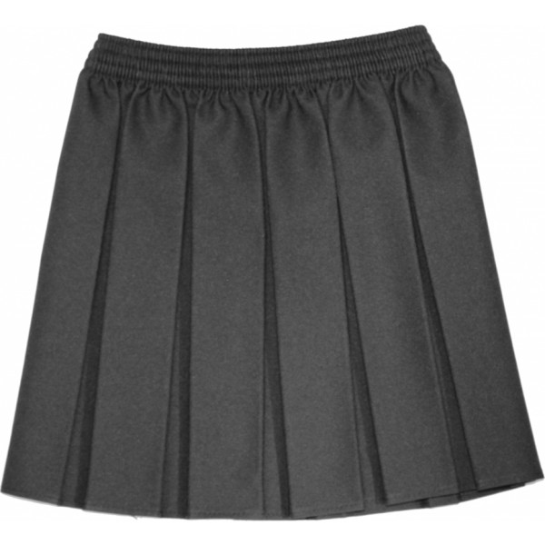 Grey Box Pleat Skirt Girls Uniform Kingsway infant school Abbots Langley Primary School