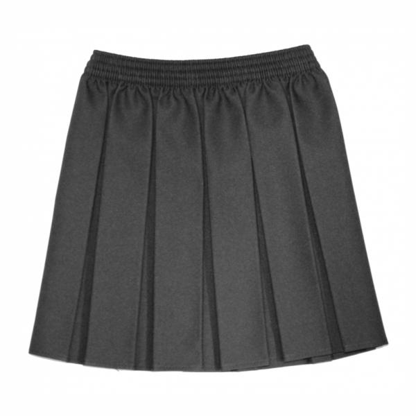 Girls Box Pleat Skirt