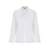 Girls long sleeve white shirt twin pack