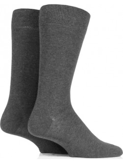 Kingsway Infant School Cotton Rich Socks (Twin Pack)