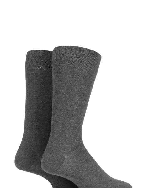K.I.S Cotton Rich Socks (Twin Pack)
