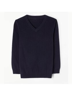 Parmiter's School V-Neck Knitted Jumper