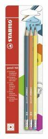 HB Pencil 160 with Eraser Tip