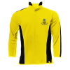Bushey Meads School BMS Black Yellow PE Sports boys Top