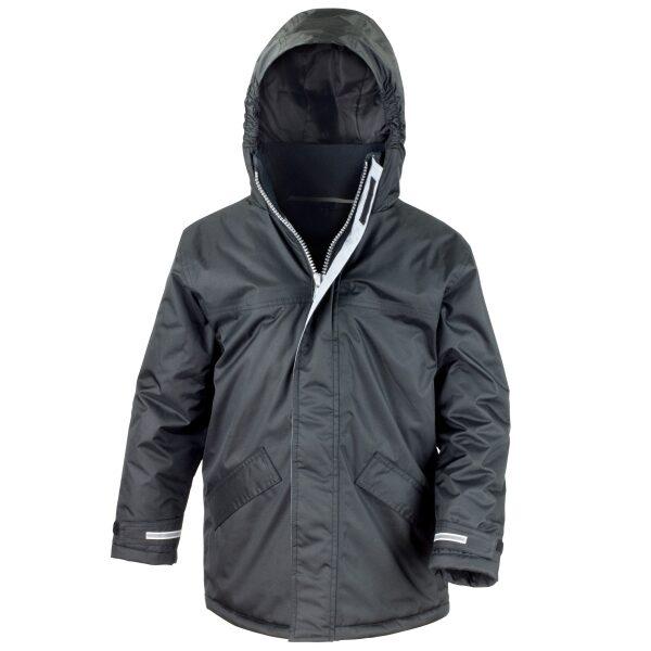 Bushey Meads School BMS Black Winter Parka Jacket Boys Girls Unisex Uniform
