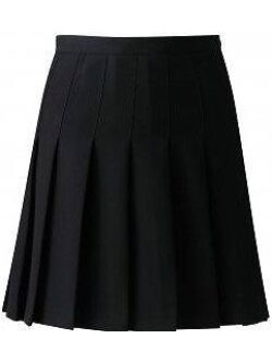 Knife Pleat Skirt (Adjustable waist)