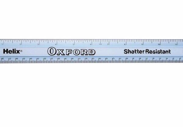 Shatter Resistant Ruler