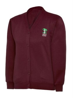Abbots Langley Primary School Sweatshirt Cardigan (with logo)