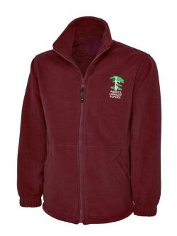 Abbots Langley Primary School Fleece Jacket (with logo)