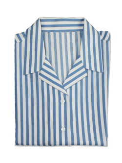 Parmiter's School Girls Long Sleeve Striped Blouse (Twin Pack)