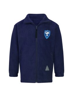 Garston Manor School Fleece Jacket (with Logo)