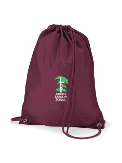 Abbots Langley Primary School P.E Bag (with Logo)