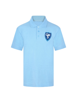 Garston Manor School Polo T-Shirt (with Logo)