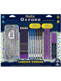 Helix Oxford Splash Stationery Set – Purple