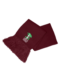 Abbots Langley School Knitted Scarf (with logo)