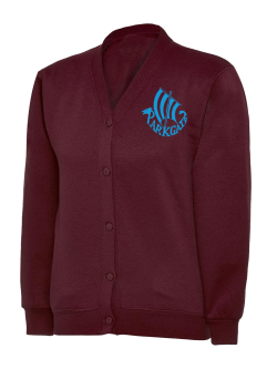 Parkgate Infants & Nursery School Sweatshirt Cardigan (with logo)