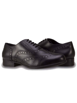 BELLA LACE UP SENIOR GIRLS BROGUE SCHOOL SHOES
