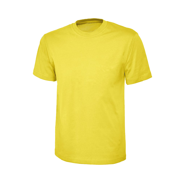 Parkgate infants & nursery school crewneck t-shirt yellow