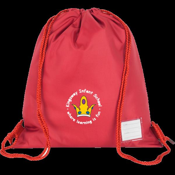 Kingsway Infant School PE Bag with Logo