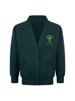 Colnbrook School Sweatshirt Cardigan